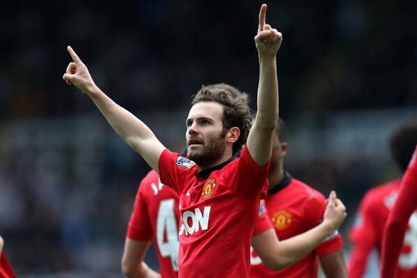 Mata celebrates