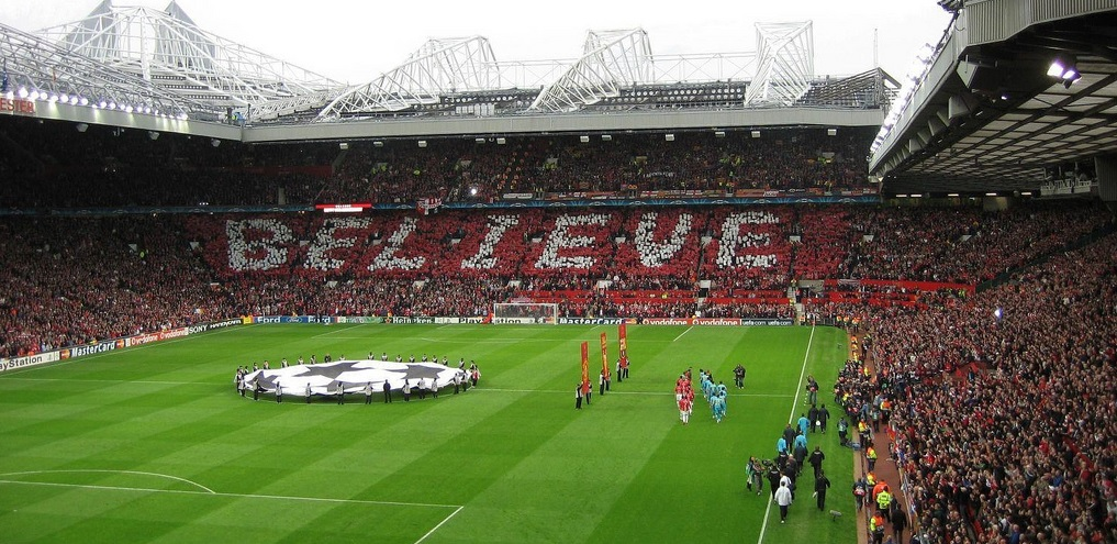 Champions League Old Trafford Believe