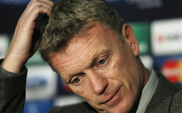 Moyes Misery at Man Utd