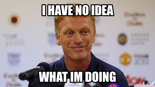 moyes no idea