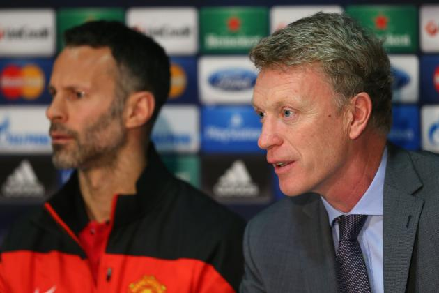 giggs moyes press conference rift