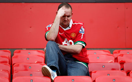 sad united fan