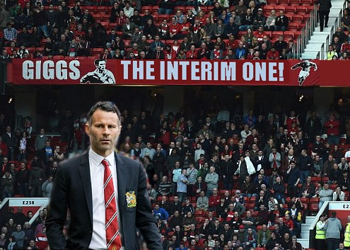 Giggs - the interim one banner