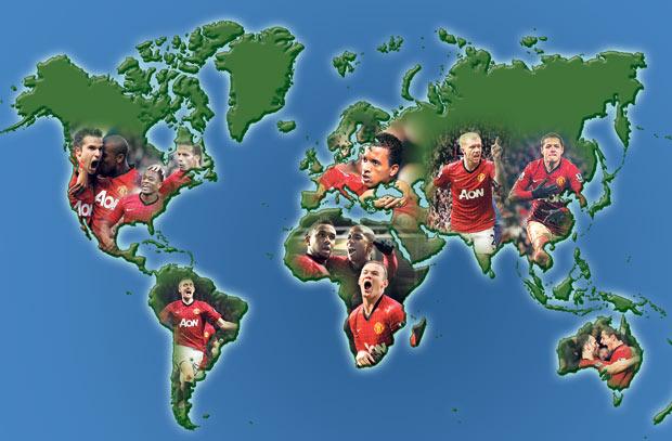 Man Utd global fanbase