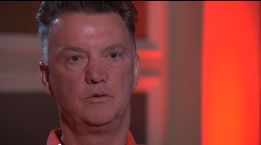 louis van gaal interview with sky sports