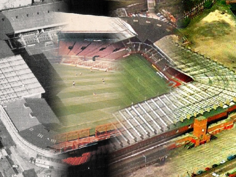 old trafford through the ages