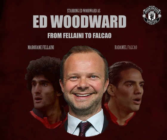 ed woodward from fellaini to falcao