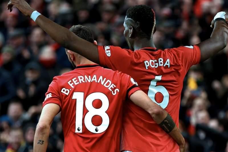 Bruno Fernandes and Paul Pogba- Manchester United's Renaissance Men